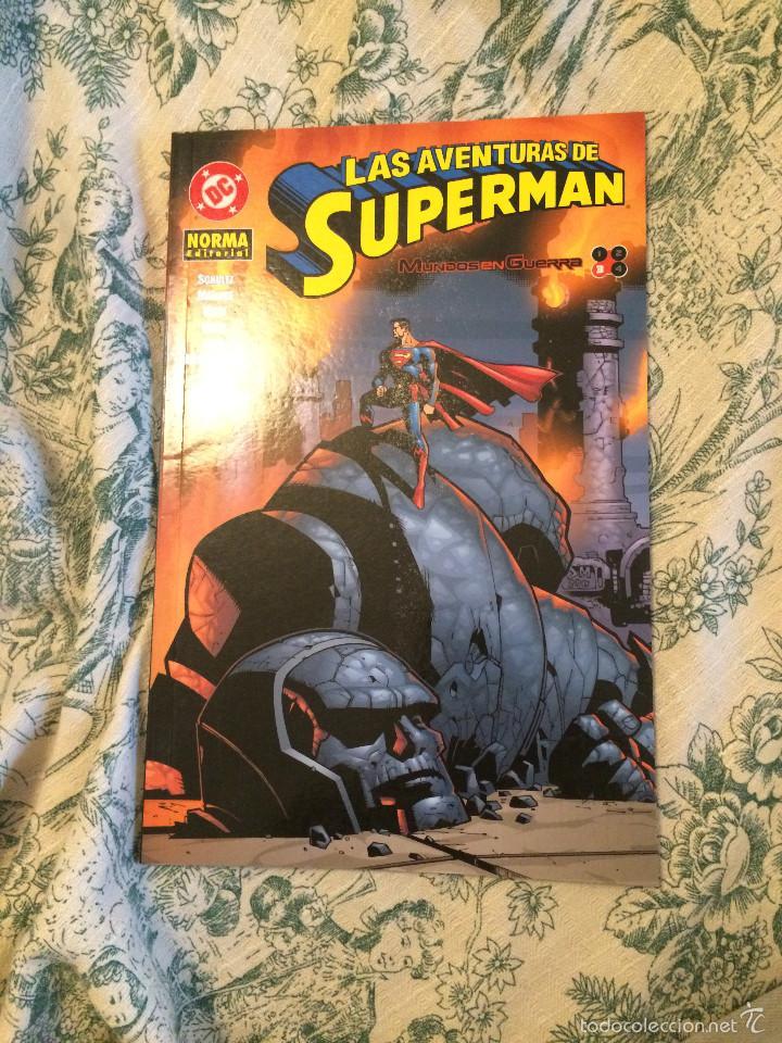 LAS AVENTURAS DE SUPERMAN MUNDOS EN GUERRA Nº 3 DE 4 (Tebeos y Comics - Norma - Comic USA)