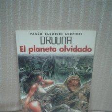 Cómics: SERPIERI: DRUUNA 7: EL PLANETA OLVIDADO . Lote 58326619
