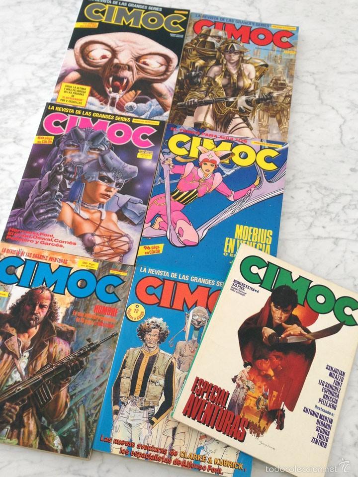 FANTASIA CIMOC - NORMA ED. - LOTE DE 5 TOMOS Y 2 EXTRAS (Tebeos y Comics - Norma - Cimoc)