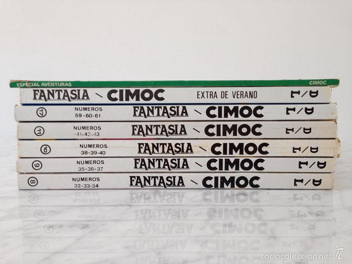 Cómics: FANTASIA CIMOC - NORMA ED. - LOTE DE 5 TOMOS Y 2 EXTRAS - Foto 2 - 58415542
