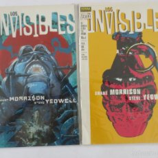 Cómics: LOS INVISIBLES . Lote 58517576