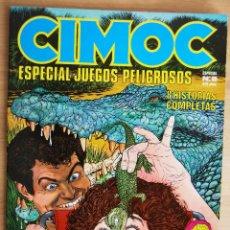 Cómics: CIMOC - ESPECIAL JUEGOS PELIGROSOS. Lote 58548239