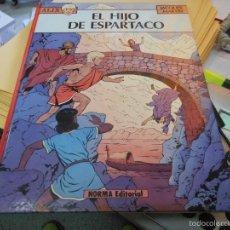 Cómics: LAS AVENTURAS DE ALIX EL HIJO DE ESPARTACO PRIMERA EDICION 1983 COMO NUEVO. Lote 58561558