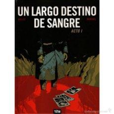 Cómics: UN LARGO DESTINO DE SANGRE. OBRA COMPLETA: 2 TOMOS. 12 BIS. TAPA DURA.. Lote 257685800