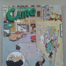 Cómics: REVISTA CAIRO Nº36, DE NORMA EDITORIAL. PORTADA DE LEÓN EL TERRIBLE.. Lote 58594525