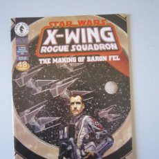 Cómics: STAR WARS: X - WING ROGUE SQUADRON. THE MAKING OF BARON FEL # ESPECIAL. DARK HORSE (U.S.A). Lote 58635478