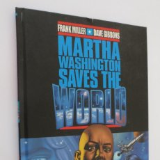 Cómics: MARTHA WASHINGTON SAVES THE WORLD. Lote 58781666