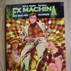 Cómics: EX MACHINA. TOMO 5. MALOS HUMOS. BRIAN K. WAUGHAN. TONY HARRIS.. Lote 58996760