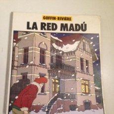 Cómics: LOS ALBUMES DE CAIRO Nº 0. LA RED MADU. ALAIN GOFFIN. NORMA 1983.. Lote 59606479