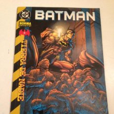 Cómics: BATMAN. TIERRA DE NADIE. Nº 8. NORMA 2001.. Lote 59607159