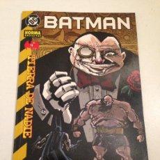 Cómics: BATMAN. TIERRA DE NADIE. Nº 9. NORMA 2001.. Lote 59607207