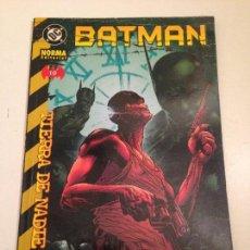 Cómics: BATMAN. TIERRA DE NADIE. Nº 10. NORMA 2001.. Lote 59607259