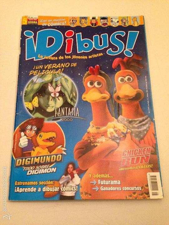DIBUS Nº 5. DIGIMON. CHICKEN RUN. NORMA 2000. (Tebeos y Comics - Norma - Otros)