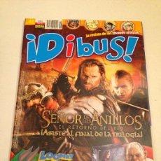 Cómics: DIBUS Nº 46. POSTER EL SEÑOR DE LOS ANILLOS. NORMA . Lote 59628511