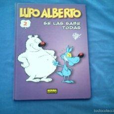 Cómics: LUPO ALBERTO 2. SE LAS SABE TODAS, DE SILVER. Lote 59683271