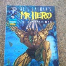 Cómics: NEIL GAIMAN,S MR HERO -- THE NEWMATIC MAN -- Nº 5 -- NORMA --. Lote 60196451