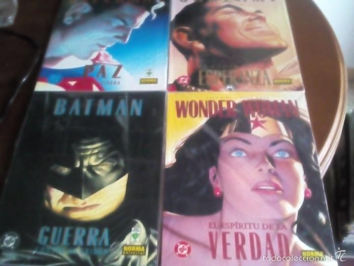 SUPERMAN SHAZAN BATMAN WONDER WOMAN (Tebeos y Comics - Norma - Otros)