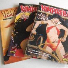 Cómics: VAMPIRELLA LOTE NORMA EDITORIAL. Lote 60718487