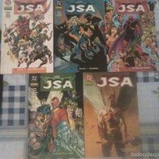 Cómics: JSA 5 TOMOS NORMA COMPLETA. Lote 60802235