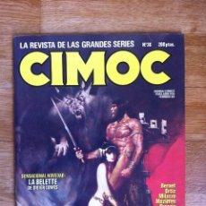 Cómics: REVISTA CIMOC Nº 36 ( SARVAN DE BERNET, MARVIN DE MILAZZO,...) NORMA EDITORIAL. Lote 61143967