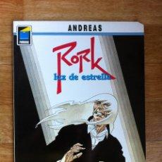 Cómics: RORK TOMO 2 LUZ DE ESTRELLA DE ANDREAS - COLECCION PANDORA Nº 22 - NORMA EDITORIAL. Lote 61183691