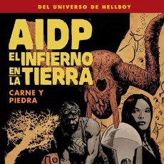 Fumetti: CÓMICS. AIDP 28. EL INFIERNO EN LA TIERRA 11. CARNE Y PIEDRA - MIKE MIGNOLA/JOHN ARCUDI/JAMES HARREN. Lote 61543624