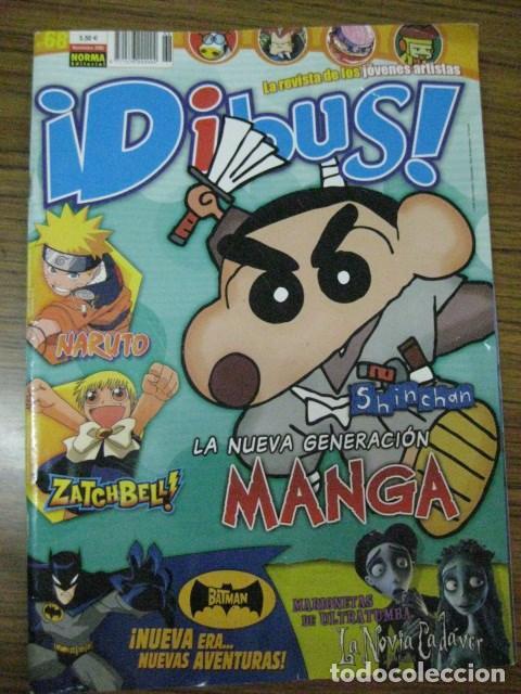 REVISTA DIBUS Nº 68 NOVIEMBRE 2005 DE NORMA EDITORIAL (Tebeos y Comics - Norma - Otros)