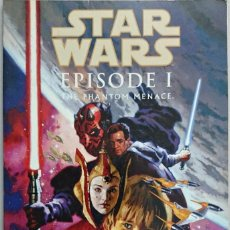 Cómics: STAR WARS. EPISODE I. THE PHANTOM MENACE. TITAN BOOKS. COMIC EN INGLÉS.. Lote 62358400