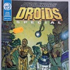 Cómics: STAR WARS DROIDS SPECIAL. NORMA EDITORIAL. LAS AVENTURAS DE R2-D2 Y C3PO. COMIC.. Lote 62358760