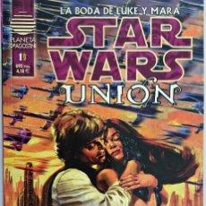 Cómics: STAR WARS UNIÓN. LA BODA DE LUKE Y MARA. Nº 1 DE 2. PLANETA DE AGOSTINI.. Lote 62358868