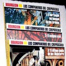 Cómics: LOS COMPAÑEROS DEL CREPUSCULO ( BOURGEON). EXCELENTE. Lote 62430384