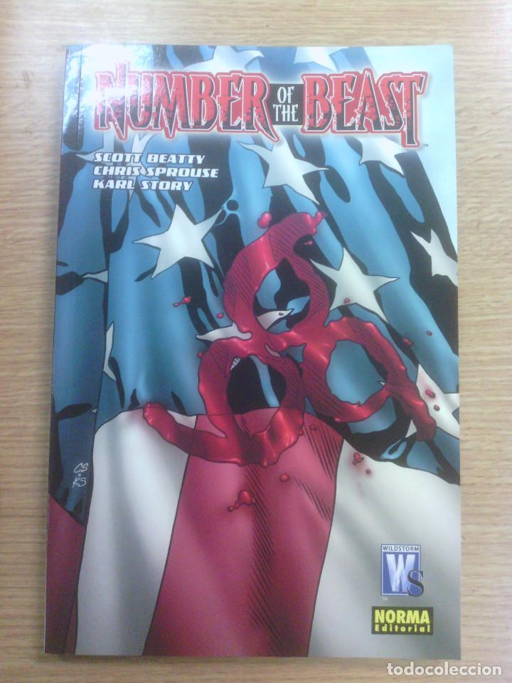 NUMBER OF THE BEAST (Tebeos y Comics - Norma - Comic USA)