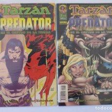 Cómics: PREDATOR VERSUS TARZAN COMPLETA. Lote 62549732