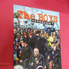 Cómics: THE BOYS. Nº 5. GARTH ENNIS. DARICK ROBERTSON . NORMA EDITORIAL.. Lote 63020916