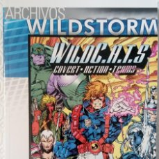 Cómics: ARCHIVOS WILDSTORM: WILDC.A.T.S 1: RESURRECCION DE STEVE GERBER, BRANDON CHOI, JIM LEE, .... Lote 63272148