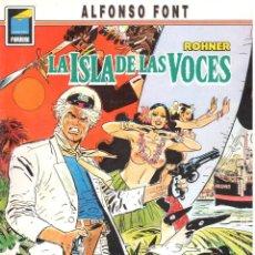 Cómics: ALFONSO FONT. LA ISLA DE LAS VOCES. NORMA EDITORIAL RUSTICA. Lote 211659366