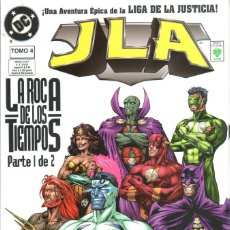 Cómics: GRANT MORRISON.JLA. LIGA DE LA JUSTICIA 4.LA ROCA DE LOS TIEMPOS 1. RUSTICA. Lote 63675567