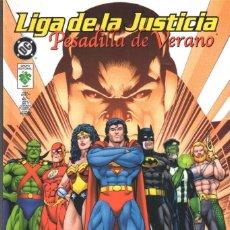 Cómics: JLA. LIGA DE LA JUSTICIA. PESADILLA DE VERANO. VID. RUSTICA. 130 PGNS. Lote 63676187