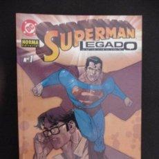 Cómics: SUPERMAN. LEGADO. TOMO 1. NORMA EDITORIAL. Lote 63698443