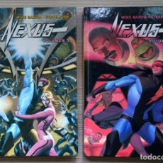 Cómics: NEXUS TOMOS 1 Y 2 - MIKE BARON & STEVE RUDE (NORMA) CARTONÉ. Lote 63993867