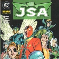 Cómics: GEOFF JOHNS. JSA . LA SOCIEDAD DE LA JUSTICIA. NORMA, RUSTICA. 112 PAGINAS. Lote 231369135