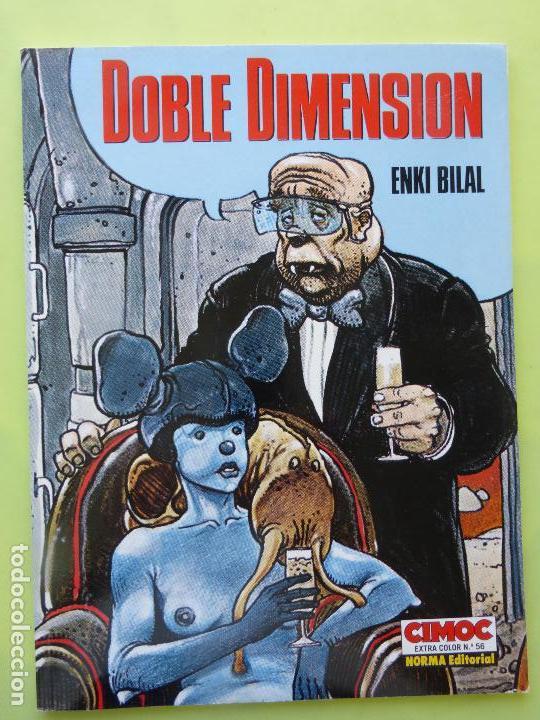 DOBLE DIMENSIÓN - ENKI BILAL - CÓMIC CIMOC EXTRA COLOR NORMA NÚMERO 56 (Tebeos y Comics - Norma - Cimoc)
