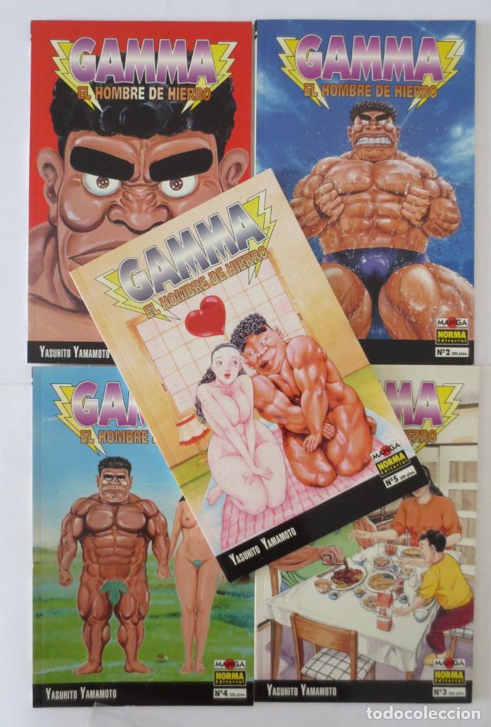 GAMMA EL HOMBRE DE HIERRO COMPLETA (Tebeos y Comics - Norma - Otros)