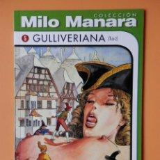 Cómics: GULLIVERIANA (1 DE 2). COLECCIÓN MILO MANARA, Nº 5 - MILO MANARA. Lote 53626279