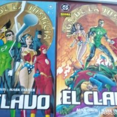 Cómics: LIGA DE LA JUSTICIA 1 Y 2 COMO NUEVOS L2P4. Lote 64336399