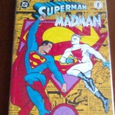 Cómics: SUPERMAN MADMAN TOMO UNICO. Lote 64336759