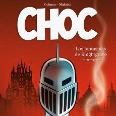 Cómics: CÓMICS. CHOC 1. LOS FANTASMAS DE KNIGHTGRAVE - COLMAN/ERIC MALTAITE (CARTONÉ). Lote 257642775