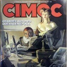Cómics: CIMOC Nº 106 GRANDES AUTORES QUE HACEN ÉPOCA. CONSUMMATUM EST (YAQUI - OSWALD).. Lote 64893275