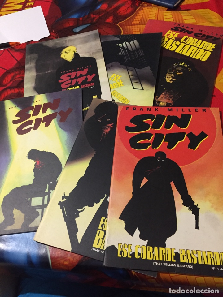 FRANK MILLER SIN CITY (Tebeos y Comics - Norma - Comic USA)