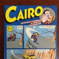 Cómics: TOMO 1 CAIRO NORMA EDITORIAL AÑO 1984 NUMEROS 25,26 Y 27.NUEVO SIN USO. Lote 66951801